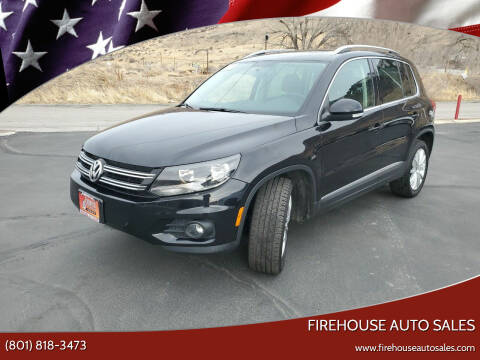 2013 Volkswagen Tiguan for sale at Firehouse Auto Sales in Springville UT