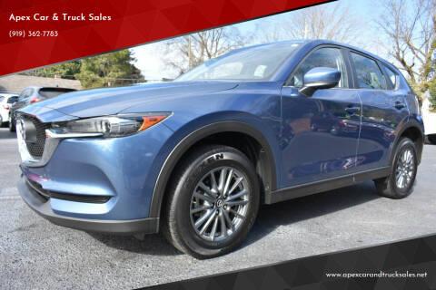 2017 Mazda CX-5 for sale at Apex Car & Truck Sales in Apex NC