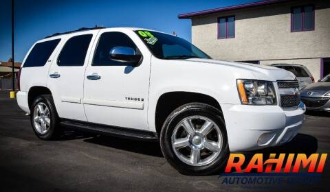 2008 Chevrolet Tahoe for sale at Rahimi Automotive Group in Yuma AZ