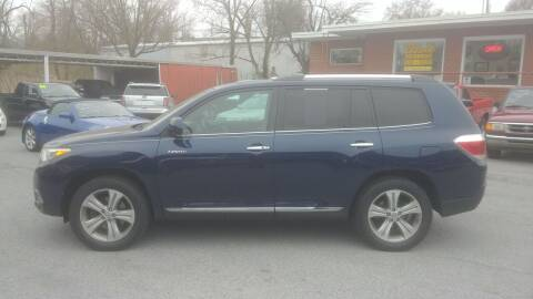 2011 Toyota Highlander for sale at Lewis Used Cars in Elizabethton TN