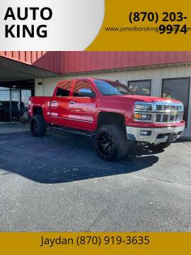 2015 Chevrolet Silverado 1500 for sale at AUTO KING in Jonesboro AR