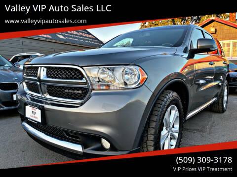 2012 Dodge Durango for sale at Valley VIP Auto Sales LLC in Spokane Valley WA