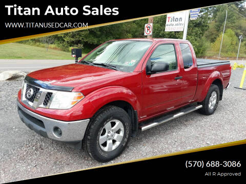 2010 Nissan Frontier for sale at Titan Auto Sales in Berwick PA