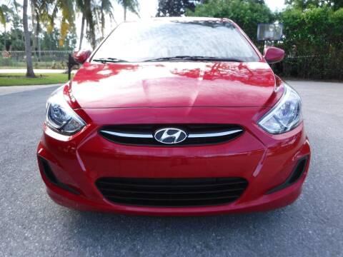 2017 Hyundai Accent for sale at Seven Mile Motors, Inc. in Naples FL
