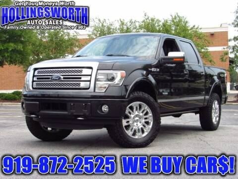 2014 Ford F-150 for sale at Hollingsworth Auto Sales in Raleigh NC