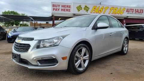 2015 Chevrolet Cruze for sale at Fast Trac Auto Sales in Phoenix AZ
