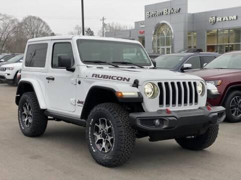 2021 Jeep Wrangler for sale at Betten Baker Chrysler Dodge Jeep Ram in Lowell MI