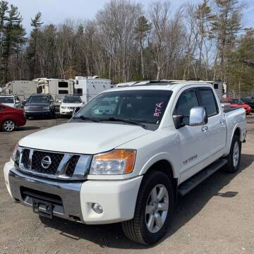 2012 Nissan Titan for sale at OFIER AUTO SALES in Freeport NY