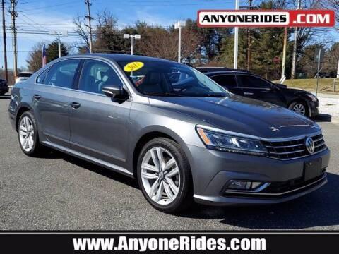 2017 Volkswagen Passat for sale at ANYONERIDES.COM in Kingsville MD