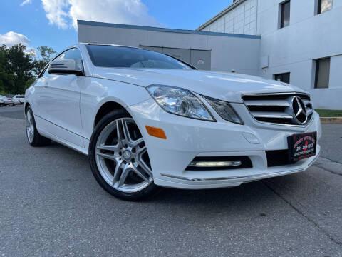 2013 Mercedes-Benz E-Class for sale at JerseyMotorsInc.com in Teterboro NJ