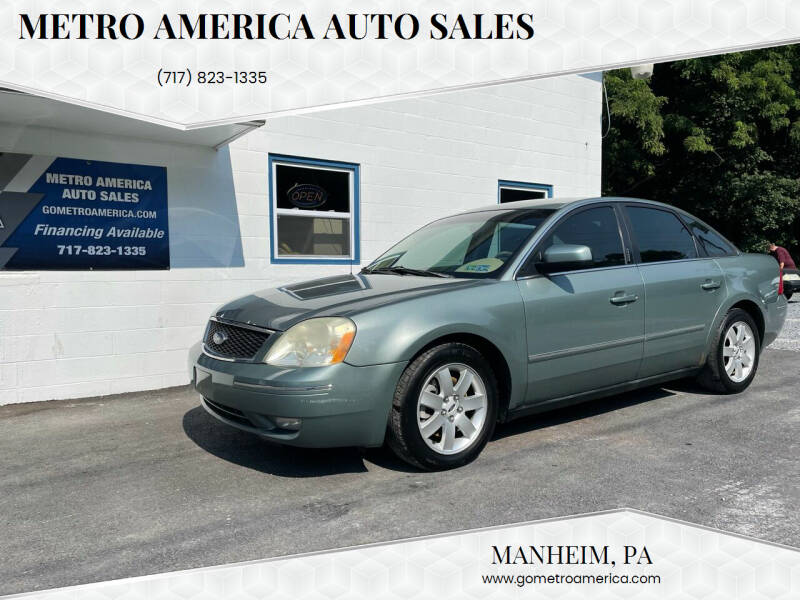 2006 Ford Five Hundred for sale at METRO AMERICA AUTO SALES of Manheim in Manheim PA