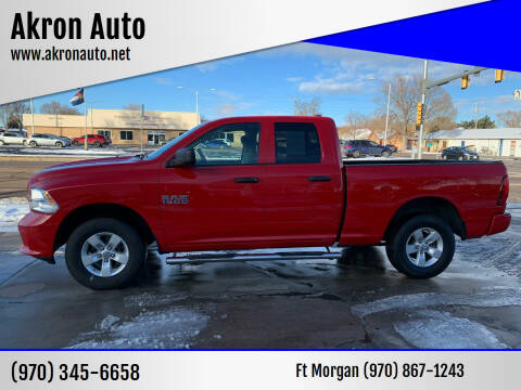 2016 RAM Ram Pickup 1500 for sale at Akron Auto - Fort Morgan in Fort Morgan CO