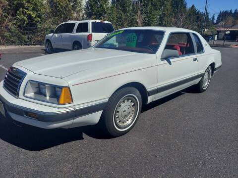 1986 Ford Thunderbird for sale at TOP Auto BROKERS LLC in Vancouver WA