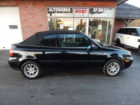 2001 Volkswagen Cabrio for sale at AUTOWORKS OF OMAHA INC in Omaha NE