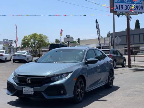 2019 Honda Civic for sale at MotorMax in Lemon Grove CA