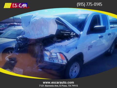 2019 RAM Ram Pickup 1500 Classic for sale at Escar Auto in El Paso TX