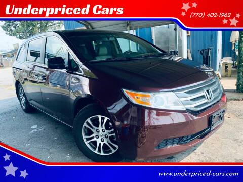2011 Honda Odyssey for sale at Underpriced Cars in Marietta GA