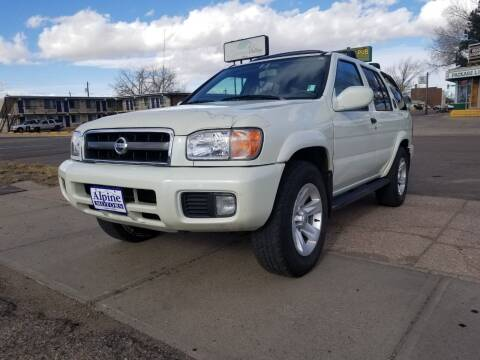 2002 Nissan Pathfinder for sale at Alpine Motors LLC in Laramie WY