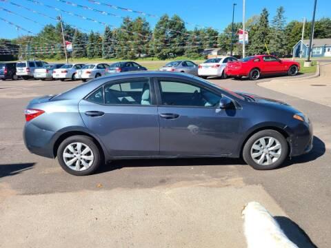 2014 Toyota Corolla for sale at Rum River Auto Sales in Cambridge MN