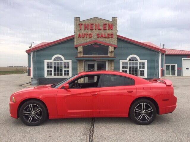 2014 Dodge Charger for sale at THEILEN AUTO SALES in Clear Lake IA