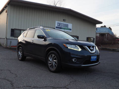 2014 Nissan Rogue for sale at Crestwood Auto Sales in Swansea MA