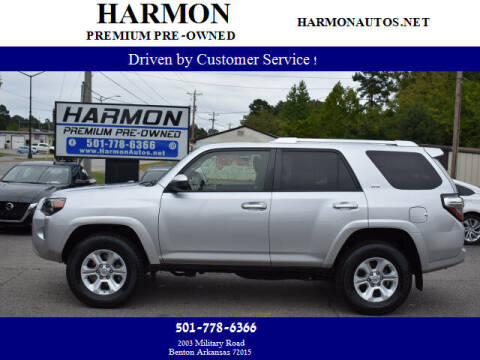 2017 Toyota 4Runner for sale at Harmon Premium Pre-Owned in Benton AR
