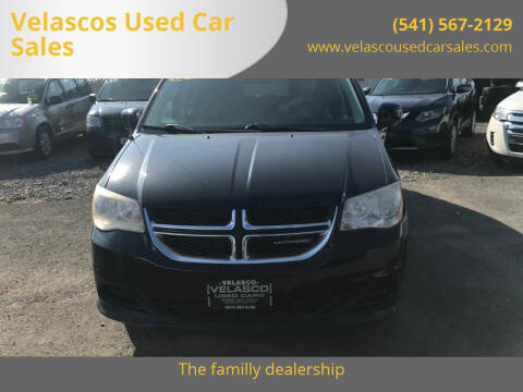 2012 Dodge Grand Caravan for sale at Velascos Used Car Sales in Hermiston OR