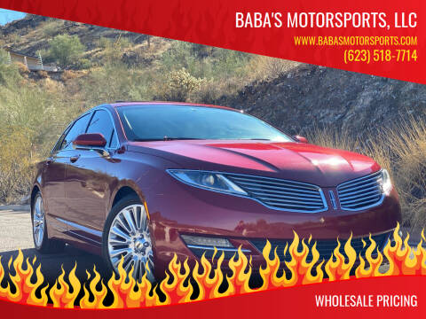 2013 Lincoln MKZ for sale at Baba's Motorsports, LLC in Phoenix AZ