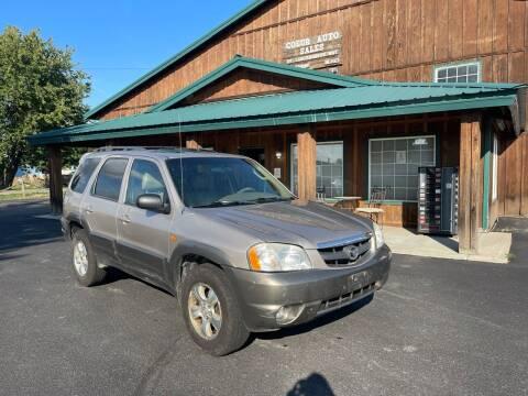 2002 Mazda Tribute for sale at Coeur Auto Sales in Hayden ID