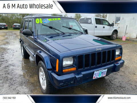 2001 Jeep Cherokee for sale at A & M Auto Wholesale in Tillamook OR