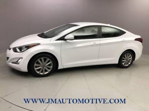 2016 Hyundai Elantra for sale at J & M Automotive in Naugatuck CT