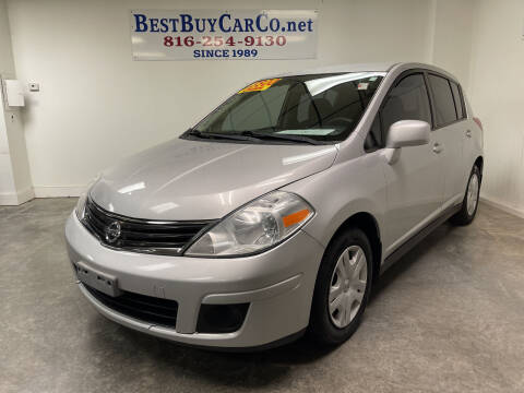 2012 Nissan Versa for sale at Best Buy Car Co in Independence MO