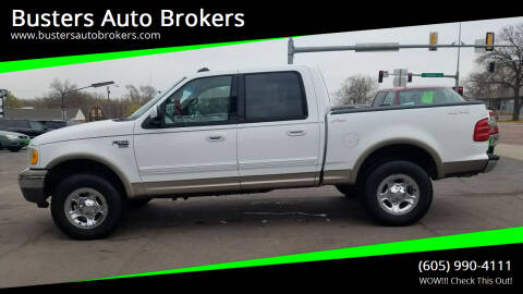 2002 Ford F-150 for sale at Busters Auto Brokers in Mitchell SD