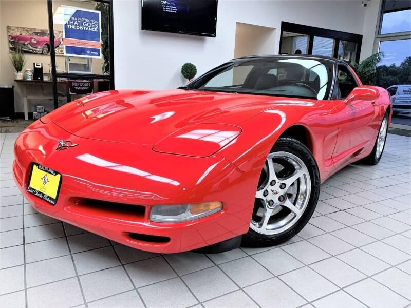 2001 Chevrolet Corvette for sale at SAINT CHARLES MOTORCARS in Saint Charles IL