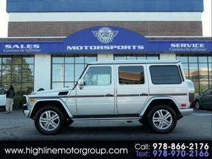 2011 Mercedes-Benz G-Class for sale at Highline Group Motorsports in Lowell MA