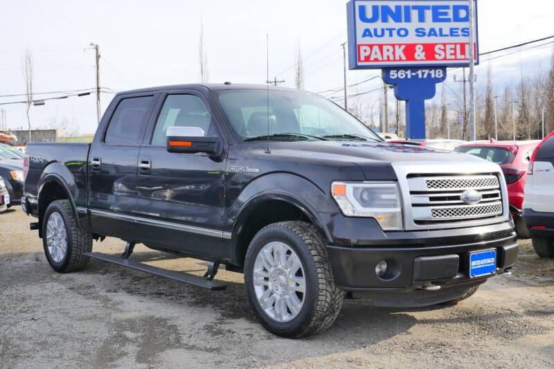 2013 Ford F-150 for sale at United Auto Sales in Anchorage AK