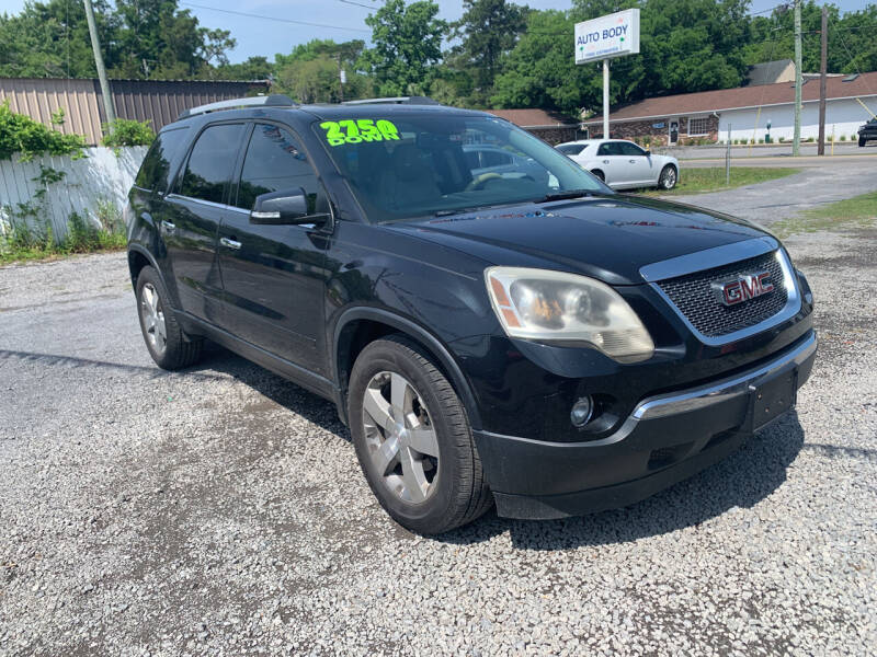 2011 GMC Acadia for sale at Auto Mart - Dorchester in North Charleston SC