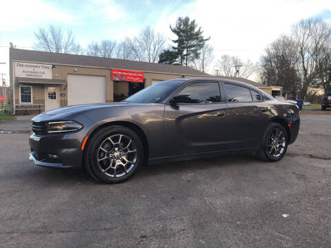 2017 Dodge Charger for sale at Jim's Hometown Auto Sales LLC in Byesville OH