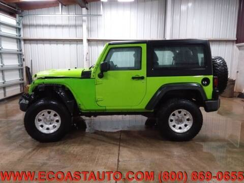 2012 Jeep Wrangler for sale at East Coast Auto Source Inc. in Bedford VA