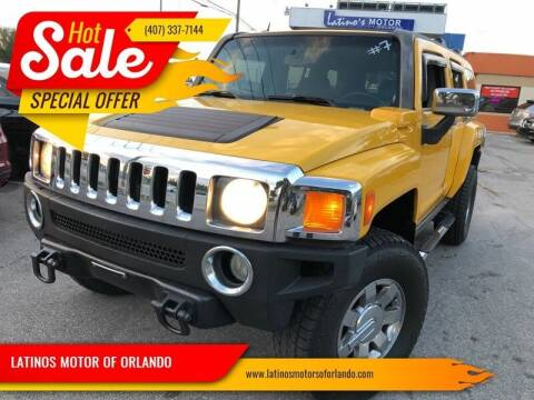 2006 HUMMER H3 for sale at LATINOS MOTOR OF ORLANDO in Orlando FL