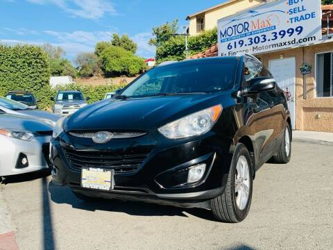 2013 Hyundai Tucson for sale at MotorMax in Lemon Grove CA