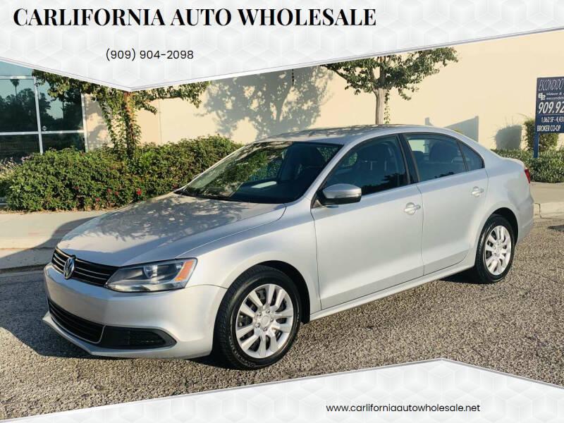 2013 Volkswagen Jetta for sale at CARLIFORNIA AUTO WHOLESALE in San Bernardino CA
