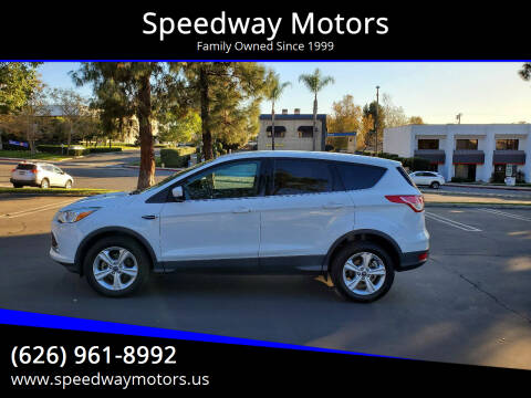 2013 Ford Escape for sale at Speedway Motors in Glendora CA