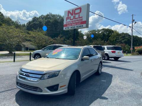 2010 Ford Fusion for sale at No Full Coverage Auto Sales in Austell GA