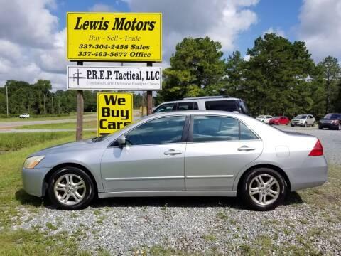 2006 Honda Accord for sale at Lewis Motors LLC in Deridder LA