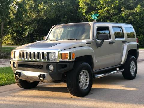 2008 HUMMER H3 for sale at L G AUTO SALES in Boynton Beach FL