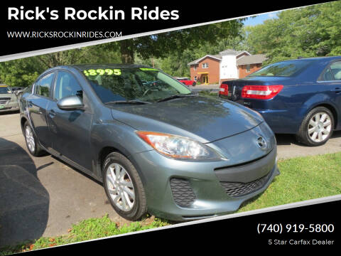 2012 Mazda MAZDA3 for sale at Rick's Rockin Rides in Reynoldsburg OH