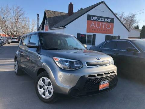 2015 Kia Soul for sale at Discount Auto Brokers Inc. in Lehi UT