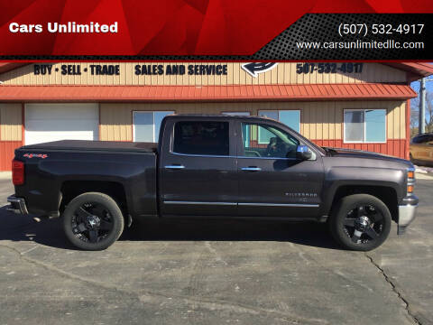 2015 Chevrolet Silverado 1500 for sale at Cars Unlimited in Marshall MN