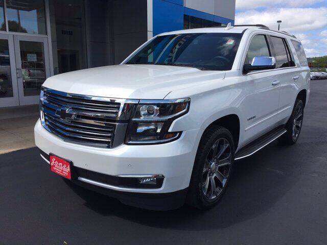 2017 Chevrolet Tahoe for sale at Jones Chevrolet Buick Cadillac in Richland Center WI